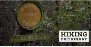 Hiking Dictionary